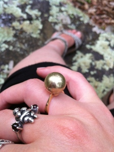Woodspriestess: Ball Ring