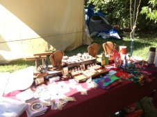 Some of my booth wares.