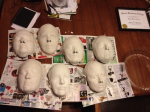 Mask-making project.