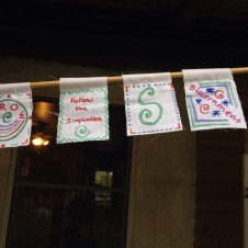New mini prayer flags.